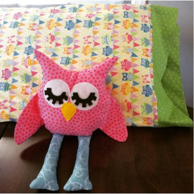 Owl Stuffed Animal with Pillow